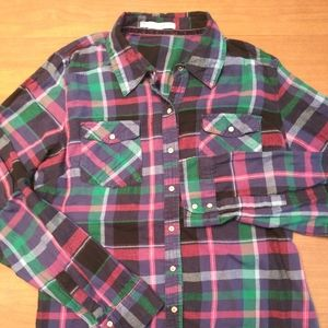 Maurices women's Flannel - L